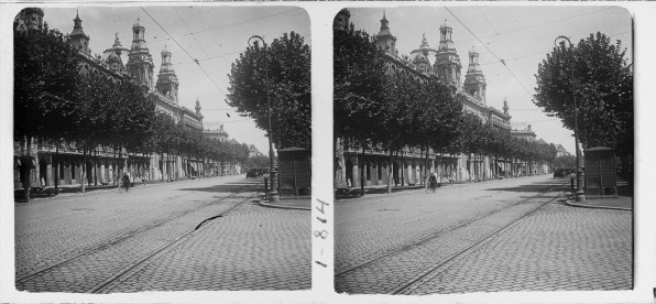 "Courtesy of the Biblioteca de Catalunya (http://www.bnc.cat): ""Vista del Coliseu a Barcelona"" by Josep Salvany i Blanch, 1924. (Public Domain)  http://www.europeana.eu/portal/record/91907/9B38D09725AC6CFF9B0EC10224D73E9C88ACE5D5.html"