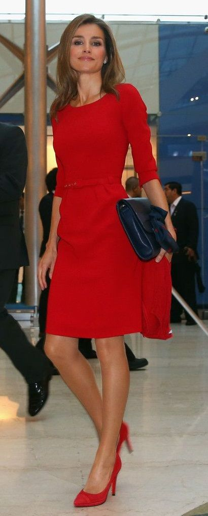 HRH Princess Letizia of Spain attending the Opening Ceremony of the 125th IOC Session in Buenos Aires, Sept. 2013