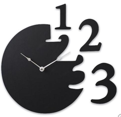 Pretty gangster clock.