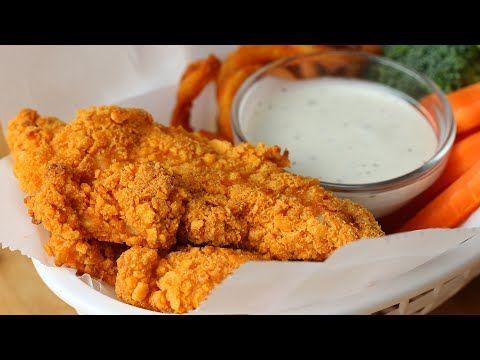 Cheddar Ranch Chicken Strips - YouTube