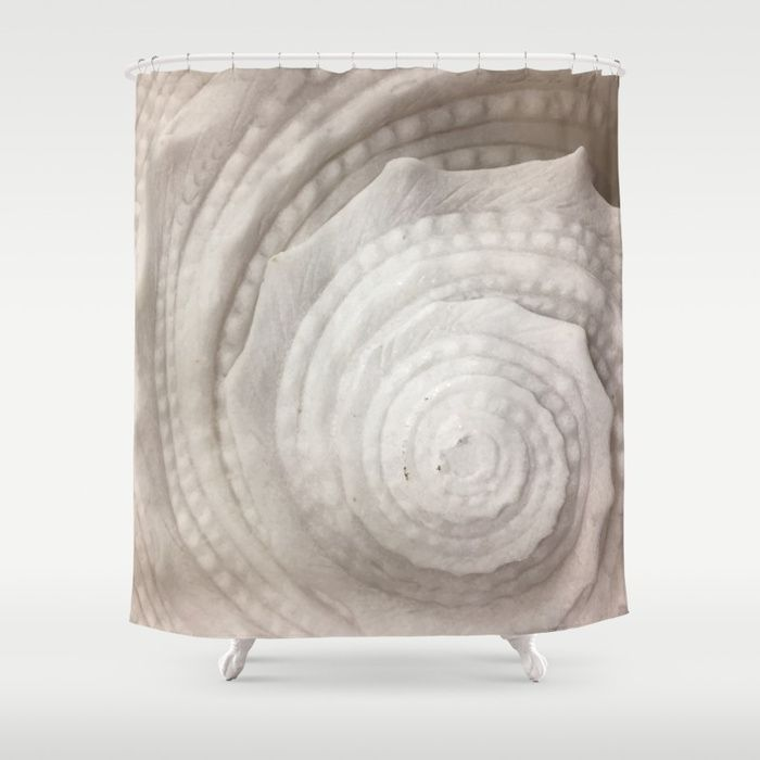 Seashell Shower Curtain by umeimages | Society6