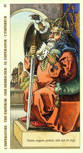 Tarot Of Dürer - The Emperor