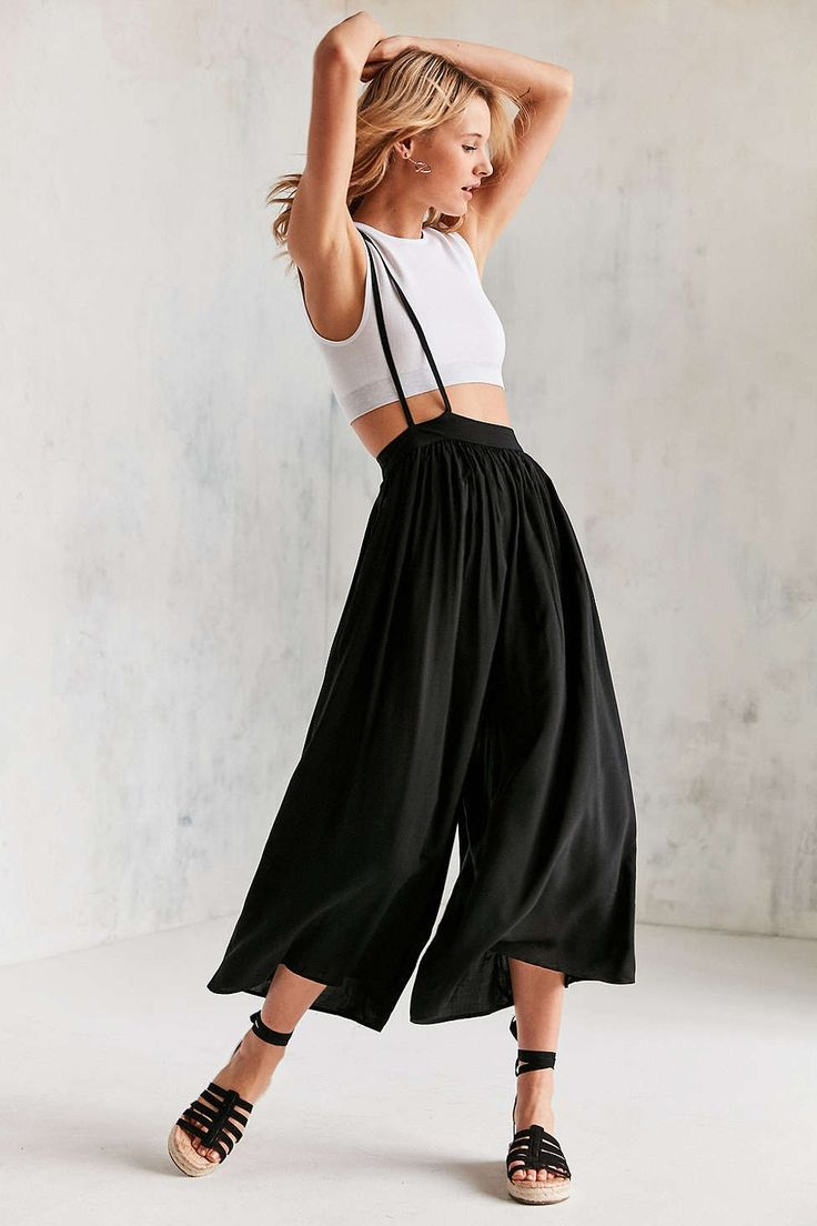 Silence + Noise Cyclops Suspender Pant - Urban Outfitters