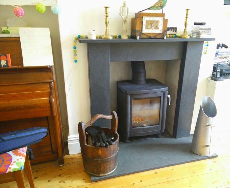 Best 25 Slate fireplace surround ideas on Pinterest Slate