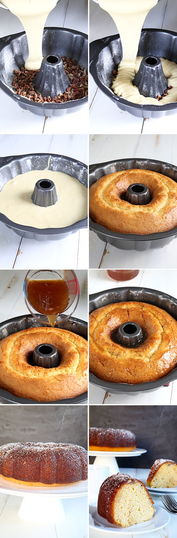Gluten Free Rum Cake—How to Step-by-Step