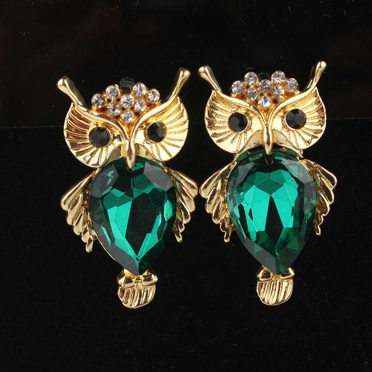 Beautiful owl Earrings from www.freaks4fashion.com