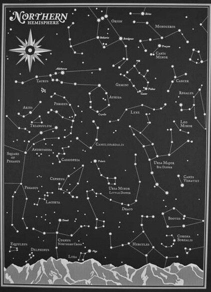 Constellation time. Maybe one day I'll actually see some stars in my polluted city corner.
