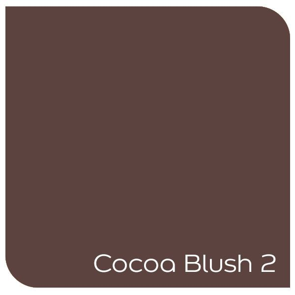 Cocoa Blush... a rich brown with the slightest hint of red. Warm cost and inviting. Click the colour to order a tester online!
