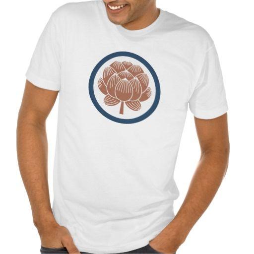 Lotus Flower Kamon T-shirts
