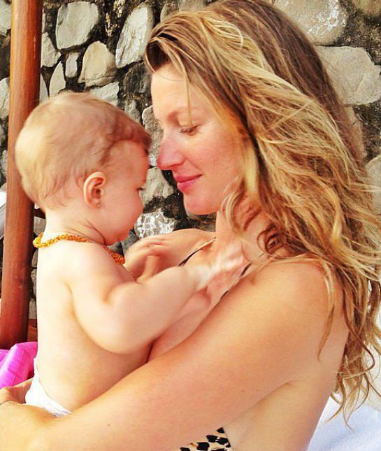 Gisele Bundchen's Crazy Celebrity Birth Story