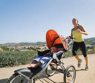 Lose pregnancy weight with our seven-week stroller jogging plan
