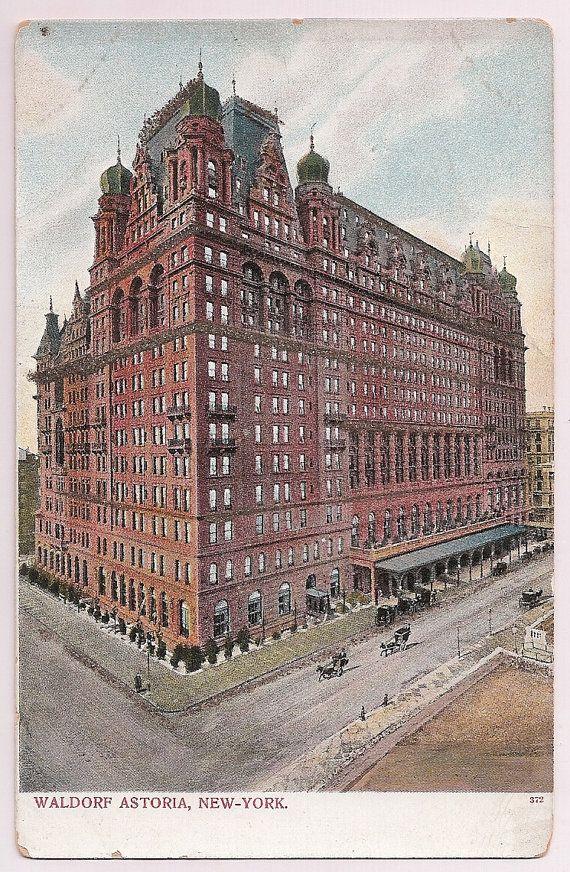 New york city architecture waldorf astoria hotel antique for Waldorf astoria antiques
