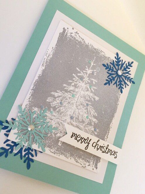 A personal favorite from my Etsy shop https://www.etsy.com/ca/listing/256460666/merry-christmas-handmade-card