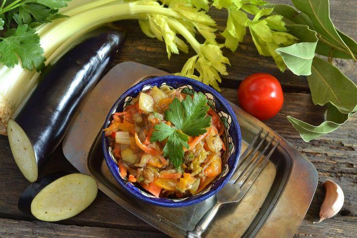 Аджапсандали — грузинское овощное рагу. Пошаговый рецепт с фото - Ботаничка.ru
