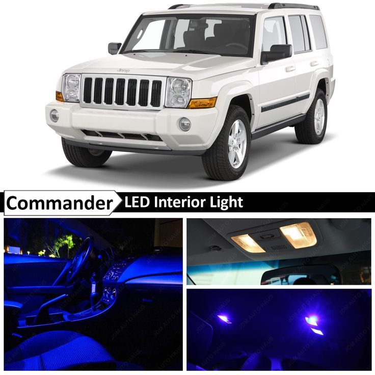 12x Blue LED Lights Interior Package Kit 2006-2010 Jeep Commander + TOOL in eBay Motors, Parts & Accessories, Car & Truck Parts | eBay