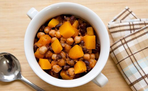 Tangy Winter Squash and Bean Chili
