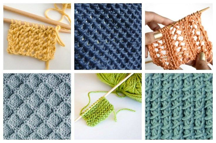 18 Easy Knitting Stitches You Can Use for Any Project  Ideal Me