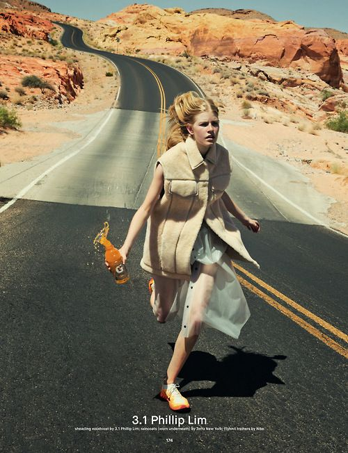 Louise Parker for Dazed Magazine Fall 2014   Photographed by Charlie Engman #style #fashion #31philliplim #editorial