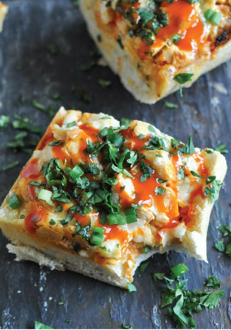 This 30-Minute Buffalo Chicken French Bread
