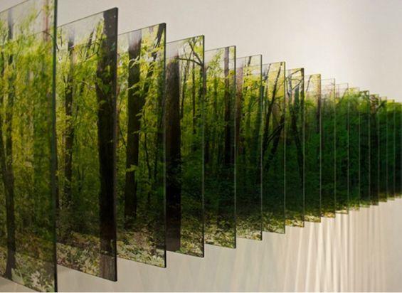 Nobuhiro Nakanishi's Mesmerizing Layered Landscapes