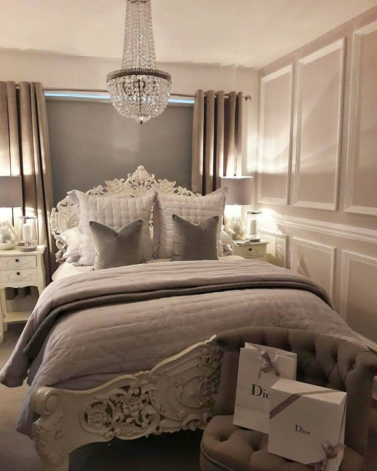 """917 Likes, 15 Comments - Grace R (@lovefordesigns) on Instagram: """"I am loving this beautiful Paris inspired bedroom styled by Lee  @leesherringtonhome .…"""""""