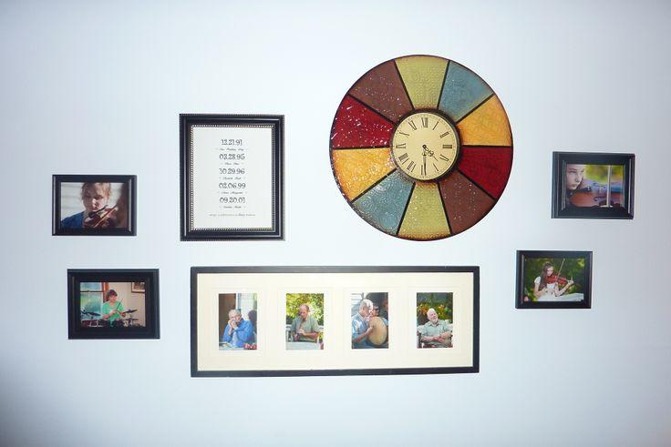 Mejores 11 imágenes de Wall Collages en Pinterest | Colgar cuadros ...