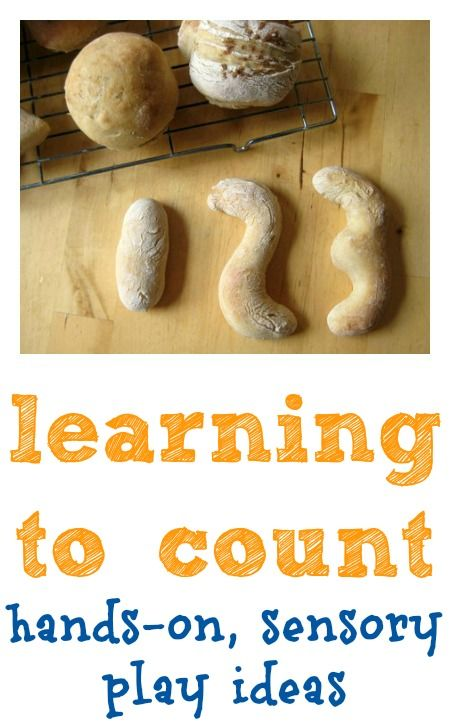 Children learn best through hands-on, sensory play – whatever the subject. Here are some fun ideas you can use with your child when they're learning to count.