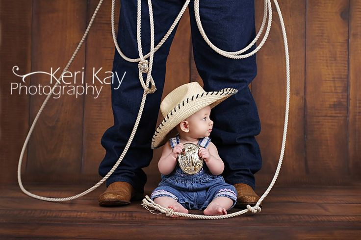 Be Inspired: 6 Month Babies » Confessions of a Prop Junkie - Great way to incorporate Rodeo love it