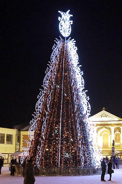 Klaipeda Lithuania Christmas Tree 2013 Christmas