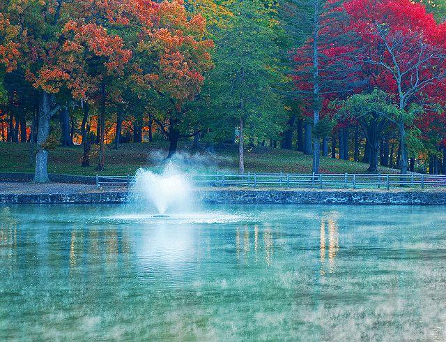 Fountain Hubbard Park Meriden Ct Meriden Photo Location Park
