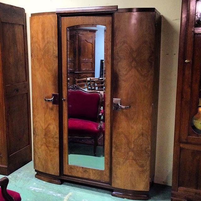 Built In Armoire Bedroom Art Deco Bedroom Suite Young Male Bedroom Decorating Ideas Bedroom Decor Sets: Art Deco Bedroom Suite 1930's #auvieuxchaudron#antiques