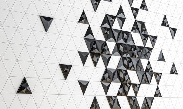 Tre, série de tuiles en béton modulaires par Next Ship et KAZA - Journal du Design