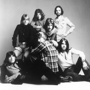 Chicago's original, and best, lineup: Robert Lamm, Peter Cetera, Lee Loughnane, Terry Kath, James Pankow, Danny Seraphine and Walter Parazaider.