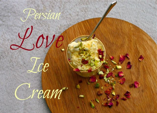 Saffron & Rose Persian Love Ice Cream   And Here We AreAnd Here We Are