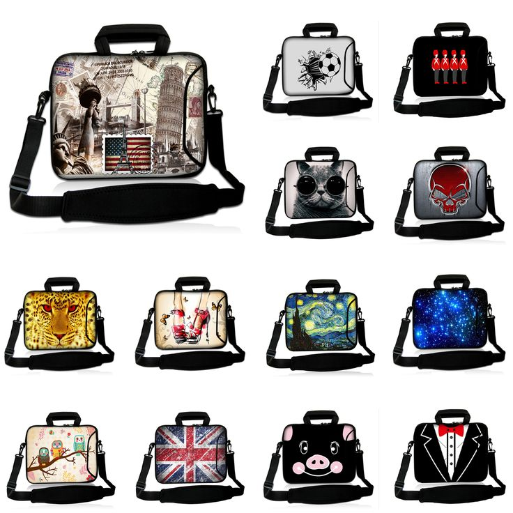 Laptop Pouch 17.3 Inch Unisex Shoulder Strap Bag 1…