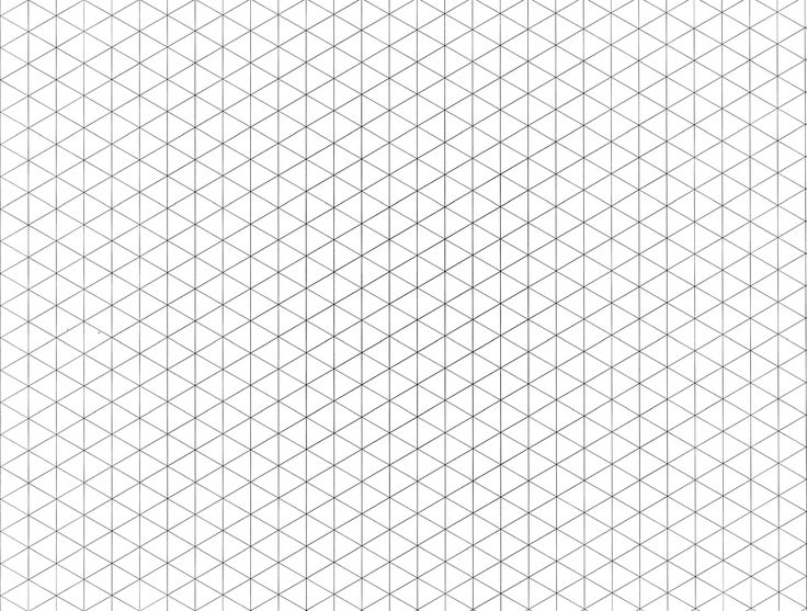 Axonometric Graph Paper