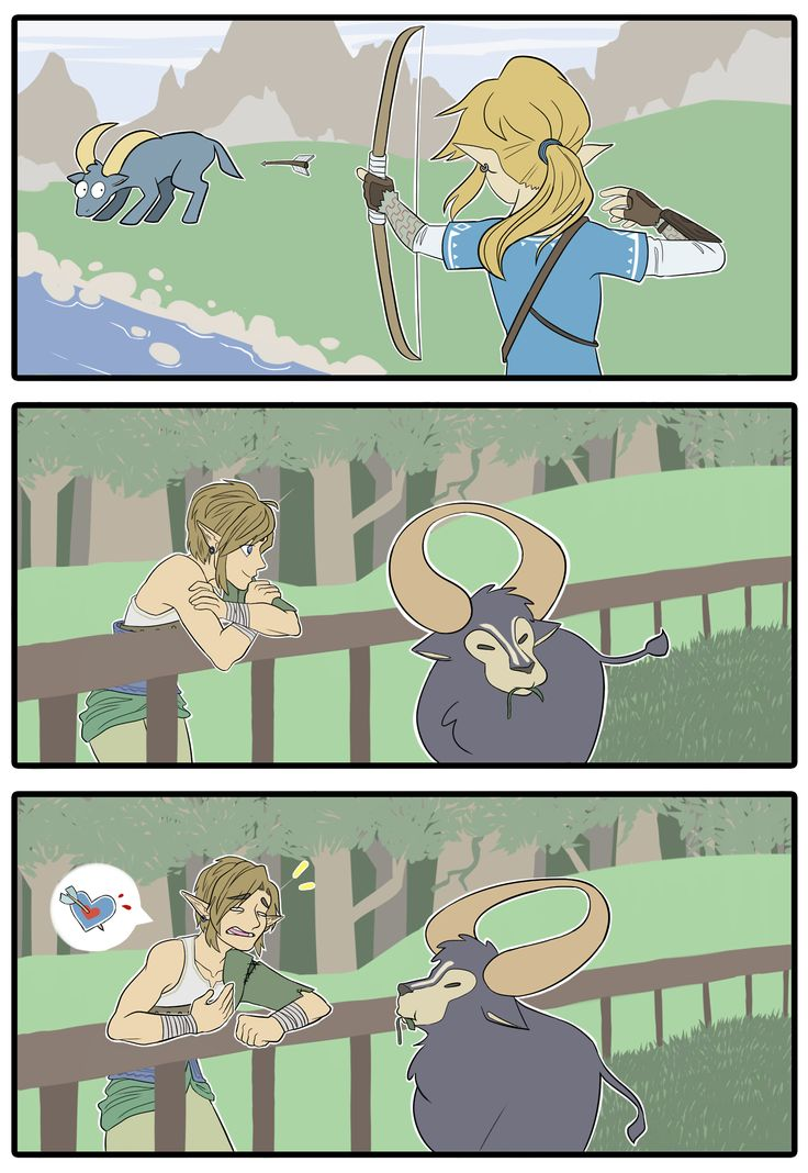 every time I killed a goat in breath of the wild I could feel twilight princess Link turning over in his grave