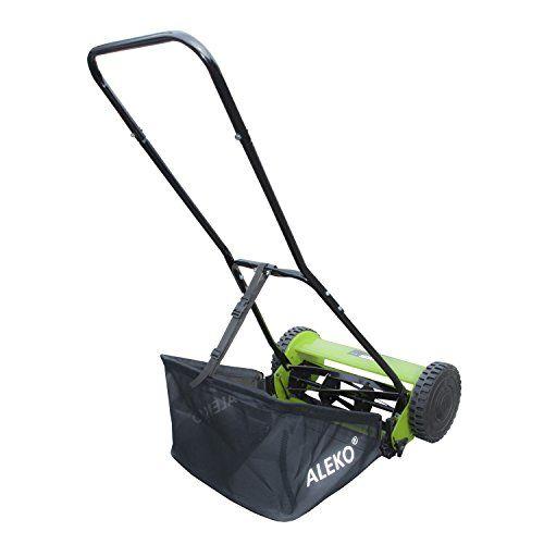 lawnmaster 16 in walk behind reel manual push mower