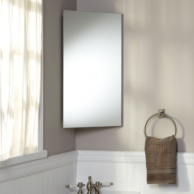 bathroom on pinterest corner medicine cabinet medicine cabinets and
