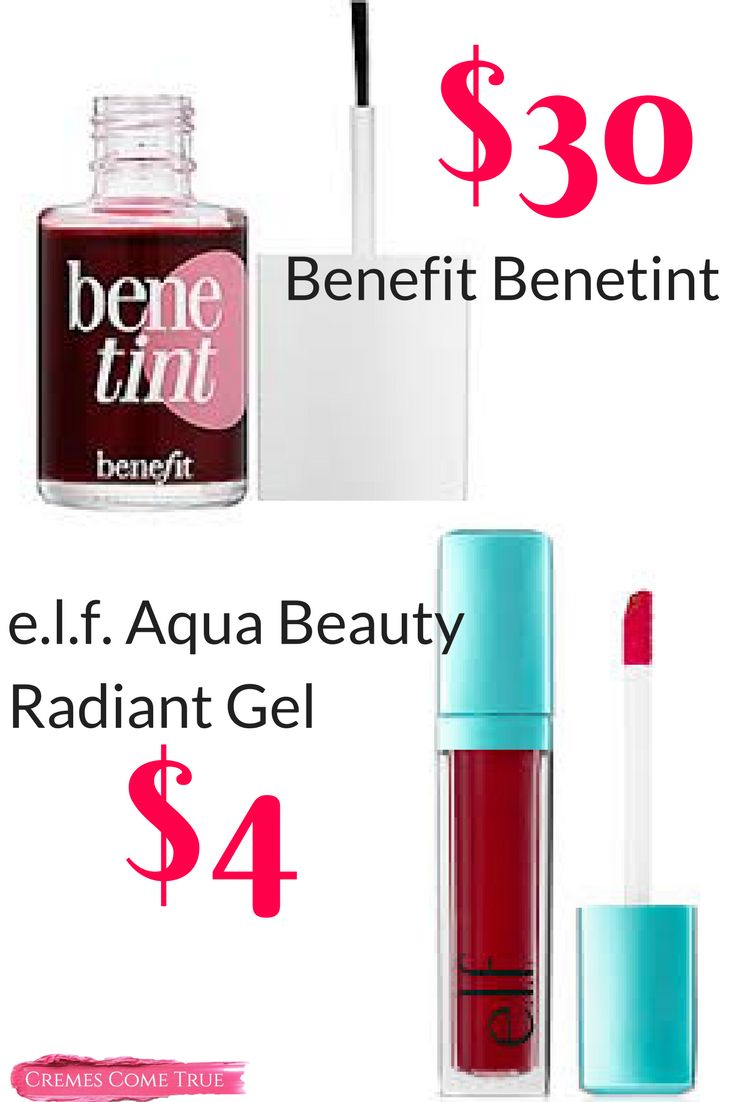 elf Aqua Beauty Radiant Gel Stain for Lips and Cheeks - Review + Tips on how to use it.  Perfect for any age and very affordable.  Actually easier to use than the Benetint.