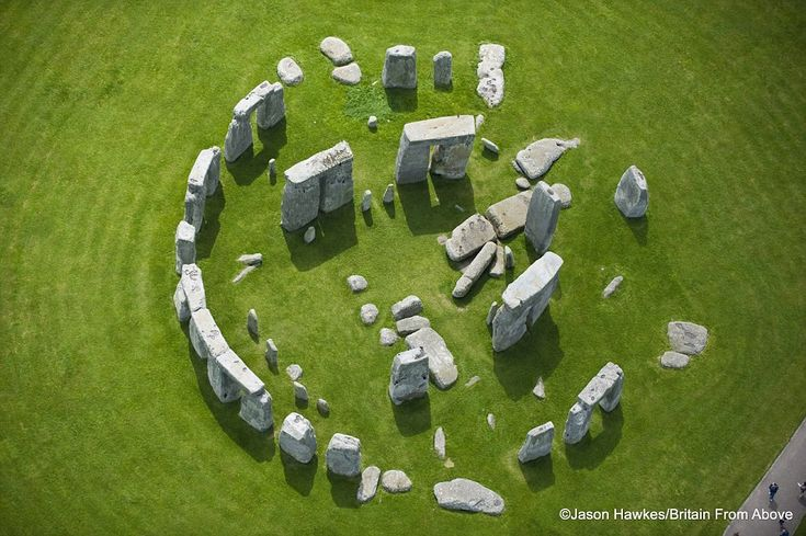 Heritage site: A quiet moment at Stonehenge