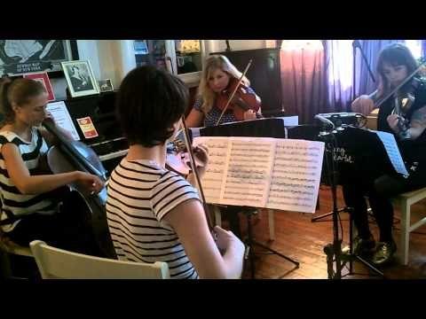 CHVRCHES - Gun - Cairn String Quartet Cover Version - YouTube