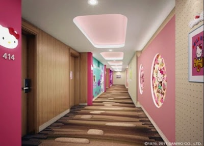 Hello Kitty Hotel Room Seoul