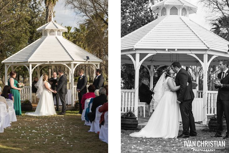 The ceremony at Parklands Resort, Mudgee - Ivan Christian Photography