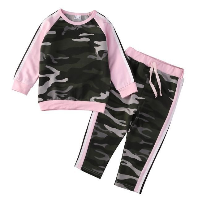 Toddler Camouflage 2PCS Outfit