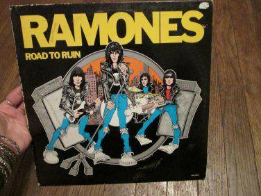 "Ramones -Road to Ruin Sire Records 12"" Vinyl Record SRK 6063  Buy it Now"