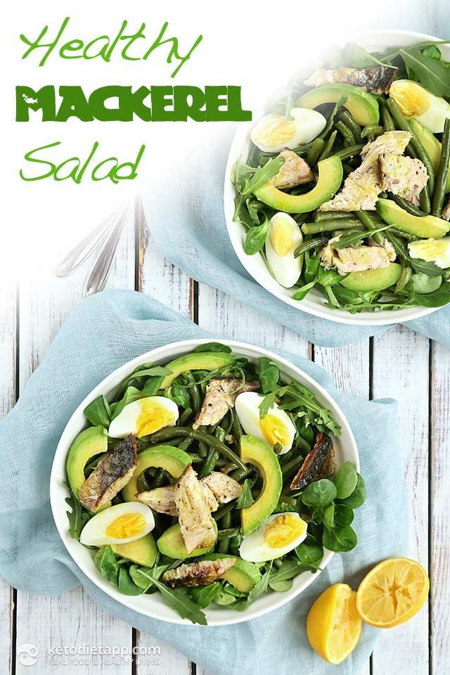 Healthy Mackerel Salad (low-carb, keto, paleo)