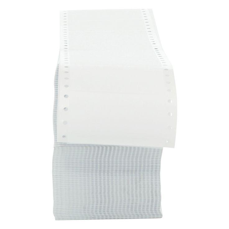 Universal Dot Matrix Printer Labels, 1 Across, 1-15/16 x 3-1/2, White, 5000/Box