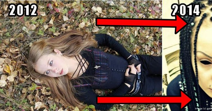 A young girls two year transformation into what is unrecognizable! | From raid