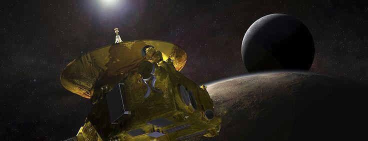 》Anfang Januar 2019 soll die Raumsonde New Horizons das kleine Kuipergürtelobjekt 2014 MU69 im dichten Vorbeiflug erkunden. Damit erforscht die Sonde nach Pluto im Juli 2015 einen weiteren Himmelskörper am Rand des Sonnensystems.《